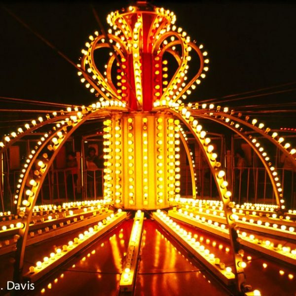 Amusement Ride in New Orleans - Circa 1980