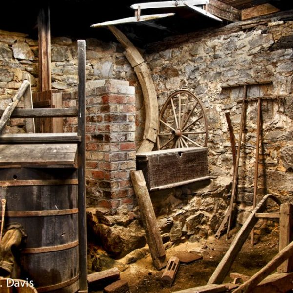Basement and Tools at McCormick Mill