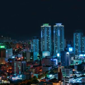 Daegu at Night