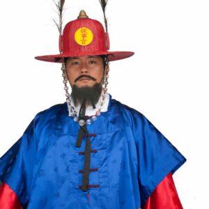 Guard at the Korean Palace