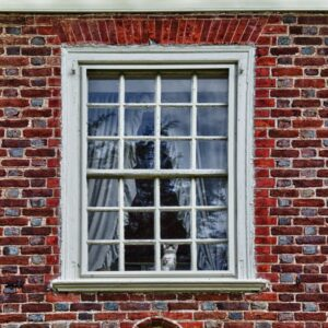 Benjamin Harrison Bedroom Window