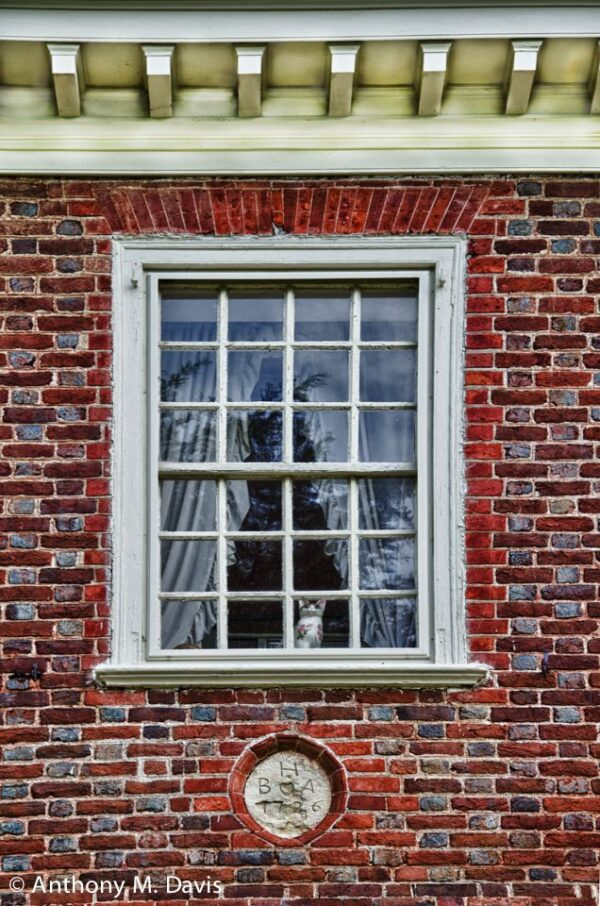 Benjamin Harrison Bedroom Window
