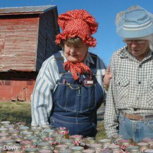 Elderly Couple at the Fair