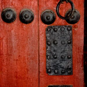 Red Door at the Korean Palace