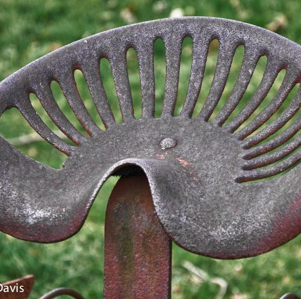 Seat from an old Dump Rake