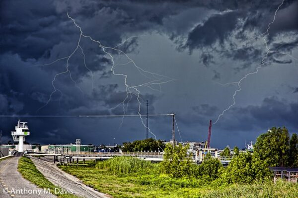 Storm Near New Orleans