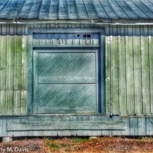 Blue Door Green Walls