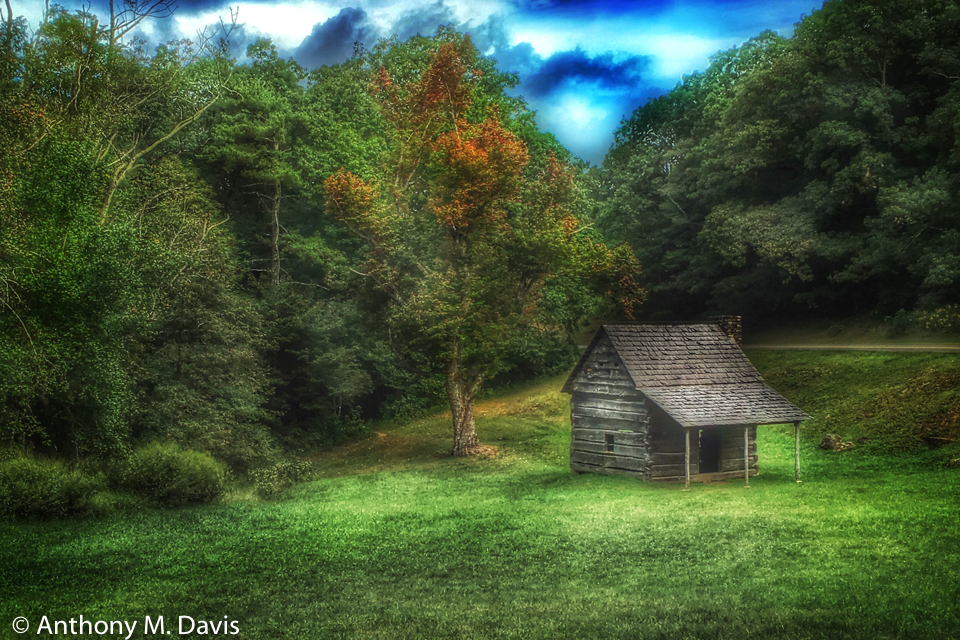 cabin on the parkway