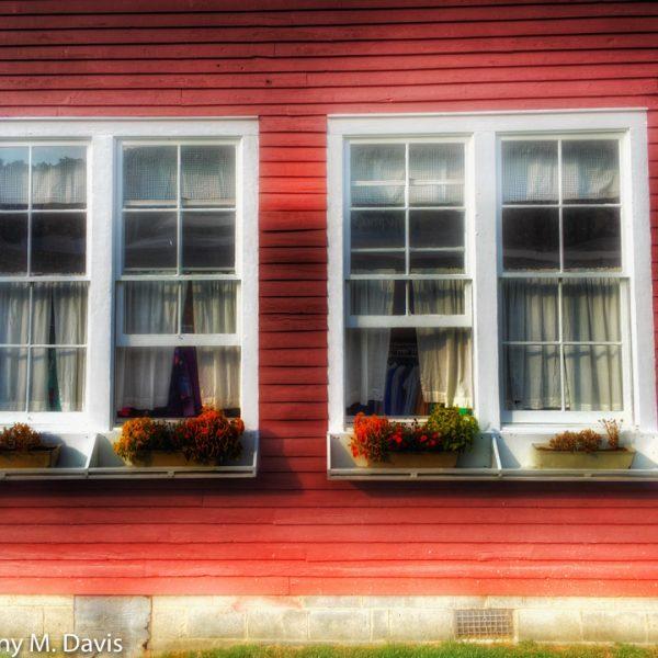 Old Schoolhouse Windows
