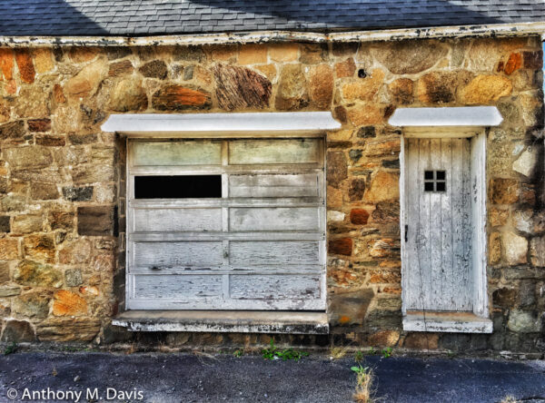 Two Doors in Stone