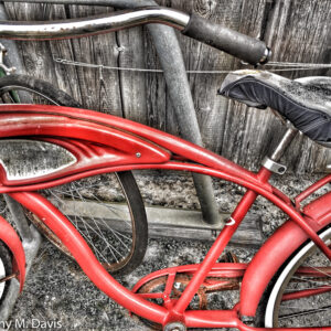 Two old Bikes
