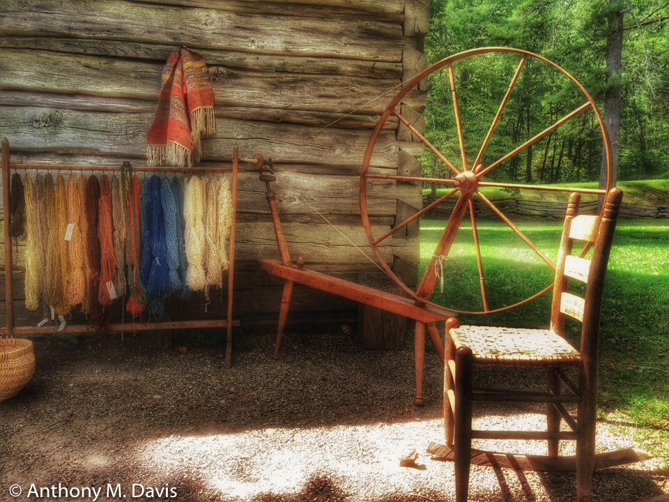 Yarn Work at Mabry Mill