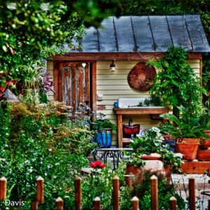New Bern Garden shed