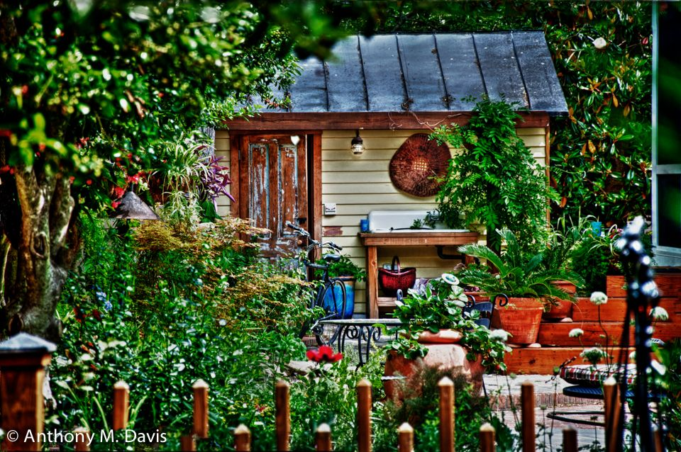 New Bern Garden shed
