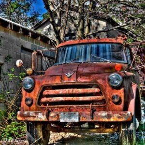 Old V8 Truck