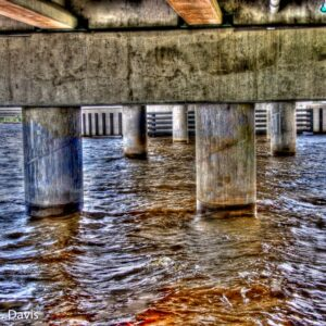 Under the New Bern Bridge
