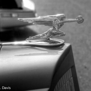 woman hood ornament